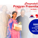 Pragyan Prasmita Ray - From Gobara Scholarship from mo Pathashala FOunder's Club
